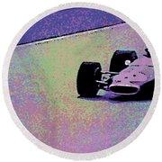 Early 60's Era Formula 1 Race Round Beach Towel