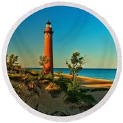 Early Morning At Little Sable Round Beach Towel