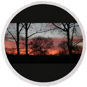 Early One Morning IIi Round Beach Towel