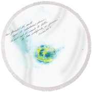 Earth Forever Round Beach Towel