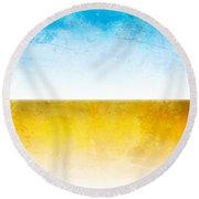Earth Round Beach Towel