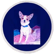 Easter Chachi Round Beach Towel