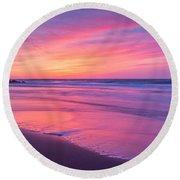 Easter Sunday Sunrise 16x7 Round Beach Towel