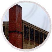 Eastern State Penitentiary 13 Round Beach Towel