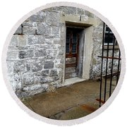 Eastern State Penitentiary 2 Round Beach Towel