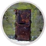 Eastern State Penitentiary 4 Round Beach Towel