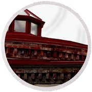 Eastern State Penitentiary 7 Round Beach Towel