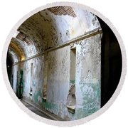 Eastern State Penitentiary 8 Round Beach Towel