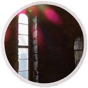 Eastern State Penitentiary 9 Round Beach Towel