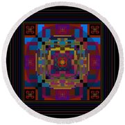 Eclipse 2012 Round Beach Towel
