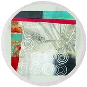 Edge 51 Round Beach Towel