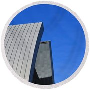 Edge Of Heaven - Architectural Photography By Sharon Cummings Round Beach Towel