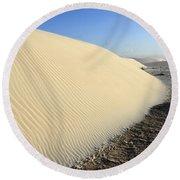 Edge Of The Dune Brazil Round Beach Towel