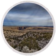 Edges Of The Grand Canyon Round Beach Towel