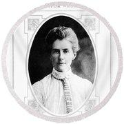 Edith Cavell (1865-1915) Round Beach Towel