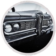 Edsel Round Beach Towel