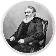 Edward Bates (1793-1869) Round Beach Towel
