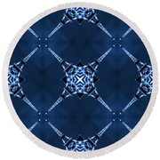 Eiffel Art 14 Round Beach Towel