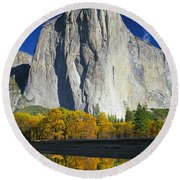 2m6516-el Capitan Reflect Round Beach Towel