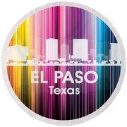 El Paso Tx 2 Round Beach Towel