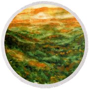 El Yunque Rainforest Round Beach Towel