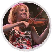 Elana James And The Continental Two Round Beach Towel