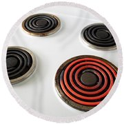 Electric Stovetop Round Beach Towel