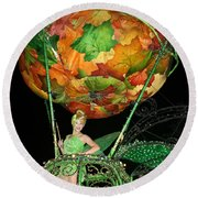 Electric Tink Round Beach Towel