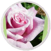 Elegant Royal Kate Rose Round Beach Towel by Will Borden
