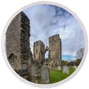 Elgin Cathedral Community - 5 Round Beach Towel