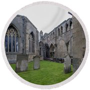 Elgin Cathedral Community - 6 Round Beach Towel