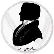 Elijah Parish Lovejoy (1802-1837) Round Beach Towel