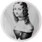 Elisabetta Sirani (1638-1665) Round Beach Towel