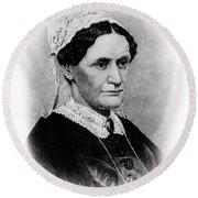 Eliza Mccardle Johnson (1810-1876) Round Beach Towel