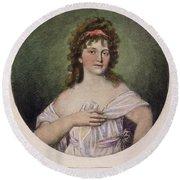 Elizabeth Monroe (1768-1830) Round Beach Towel