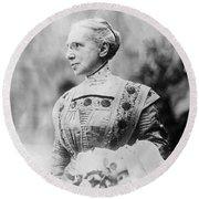 Ella Flagg Young (1845-1918) Round Beach Towel