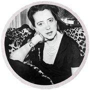 Elsa Schiaparelli (1890-1973) Round Beach Towel