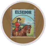 Elsedor Round Beach Towel
