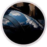 Embraer Reflection II Round Beach Towel