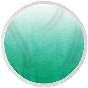 Emerald Bay Round Beach Towel
