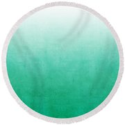 Emerald Bay Round Beach Towel by Linda Woods