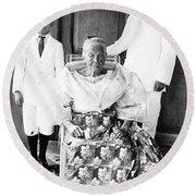 Emilio Aguinaldo (1869-1964) Round Beach Towel