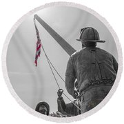 Emmitsburg 9 - 11 Memorial Round Beach Towel