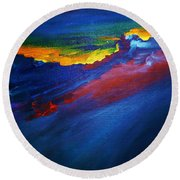 Emotions Round Beach Towel