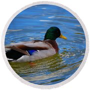 Enchanted By Jrr Round Beach Towel