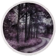 Enchanted Seney Path Round Beach Towel