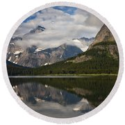Enchanting Swiftcurrent Round Beach Towel