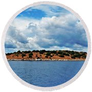 Endless Round Beach Towel