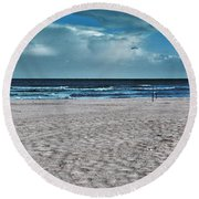 Endless Day Round Beach Towel