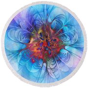 Endless Waltz Round Beach Towel